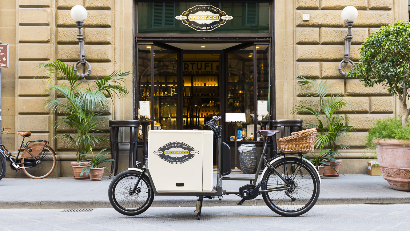 cargo bike trasporto merce