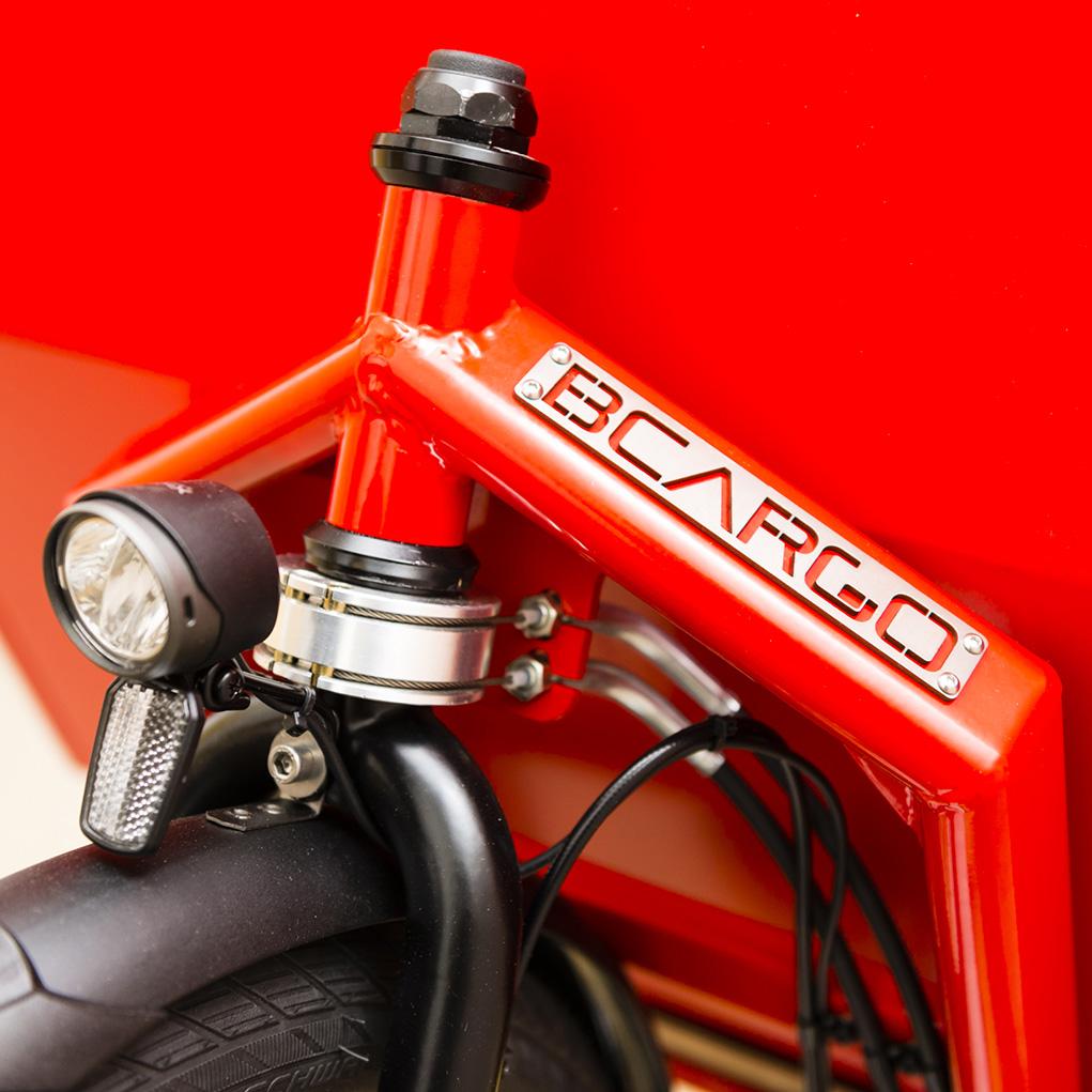 cargo e-bike BCargo anteriore