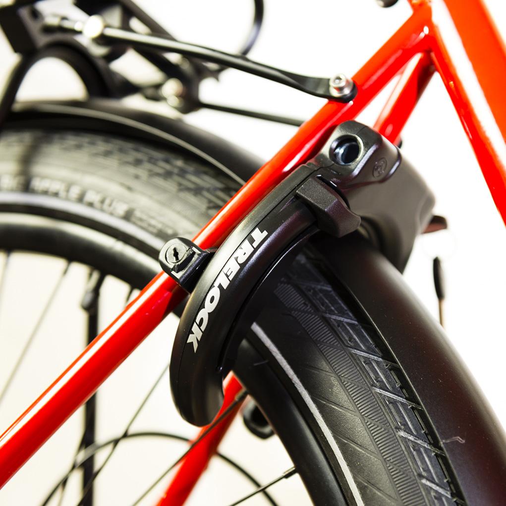 cargo e-bike BCargo lucchetto a telaio