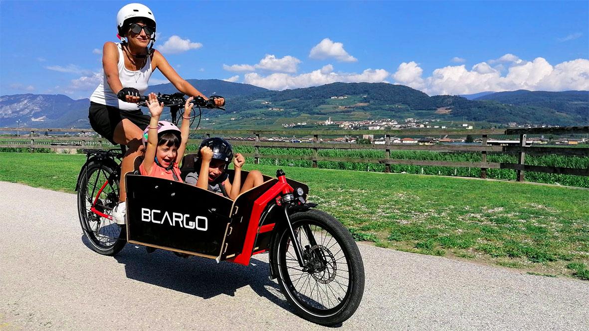 BCargo - La cargo e-bike per tutta la famiglia